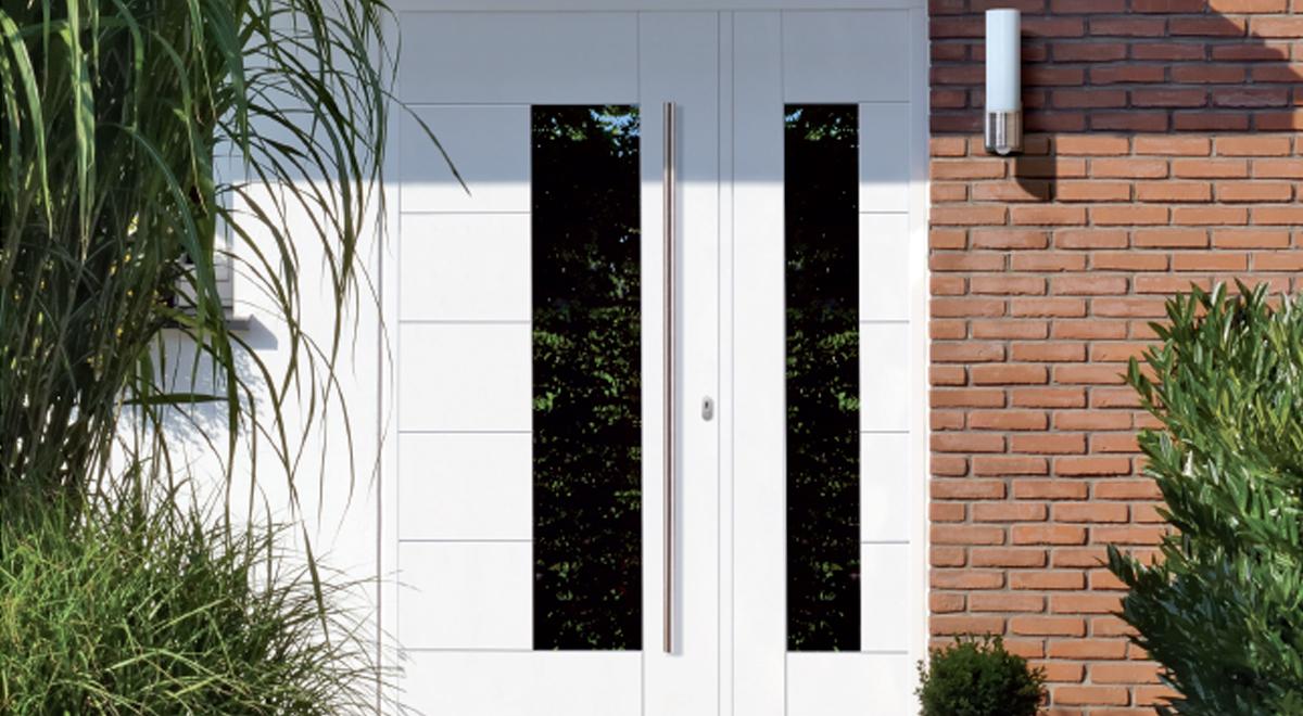 Haustüren weiß  RUKU Haustüren